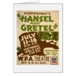 Hansel & Gretel Play 1937 WPA