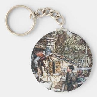 Hansel & Grethel meet the Witch Keychain