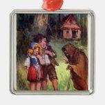 Hansel y Gretel encuentran a la bruja Adornos De Navidad