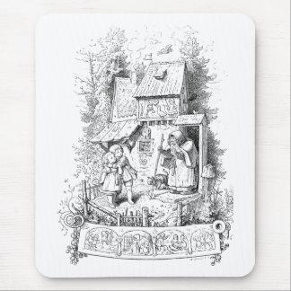 Hansel y Gretel encuentran a la bruja Mousepad