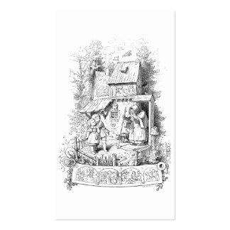 Hansel y Gretel encuentran a la bruja Tarjetas De Visita