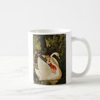 Hansel y Gretel y el cisne Taza Clásica