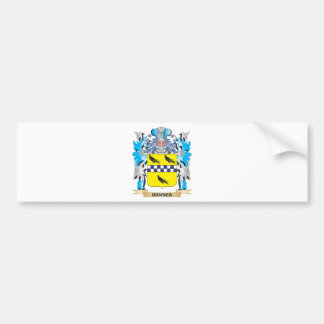 Hansen Coat of Arms - Family Crest Bumper Stickers