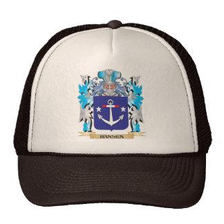 Hansen- Coat of Arms - Family Crest Trucker Hat
