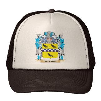 Hansen Coat of Arms - Family Crest Mesh Hats