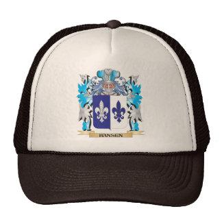 Hansen- Coat of Arms - Family Crest Hat