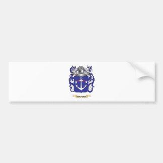 Hansen-(Denmark) Coat of Arms (Family Crest) Bumper Sticker