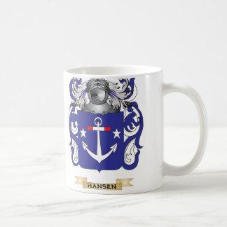 Hansen- Denmark Coat of Arms Family Crest Coffee Mugs