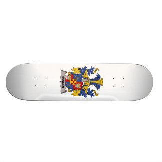 Hansen Family Crest Custom Skateboard