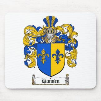 HANSEN FAMILY CREST -  HANSEN COAT OF ARMS MOUSE PAD