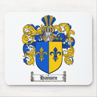 HANSEN FAMILY CREST -  HANSEN COAT OF ARMS MOUSE PAD