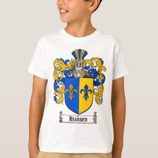 HANSEN FAMILY CREST -  HANSEN COAT OF ARMS T-Shirt