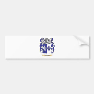 Hansen-(Sweden) Coat of Arms (Family Crest) Bumper Sticker