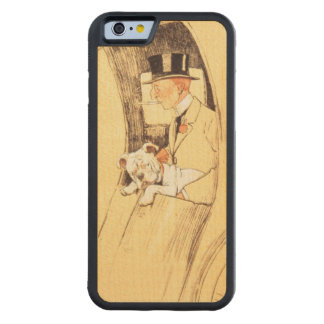 Hansom Cab Carved Maple iPhone 6 Bumper Case