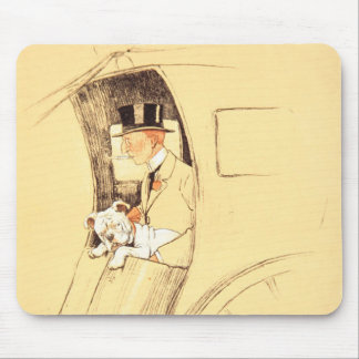 Hansom Cab Mouse Pad