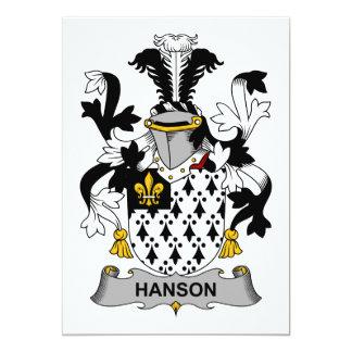 Hanson Family Crest Card