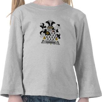 Hanson Family Crest Tee Shirt