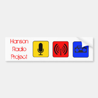 Hanson Radio Project Bumper Sticker