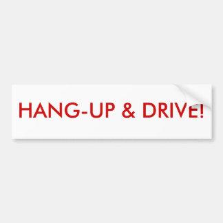 Hant-up y impulsión pegatina para auto