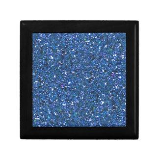 HANUKAH BLUE GLITTER GIFT BOX