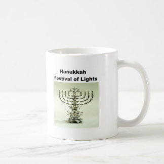 Hanukka - festival de luces taza de café