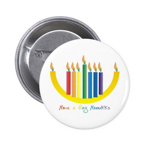 Hanukka gay pins