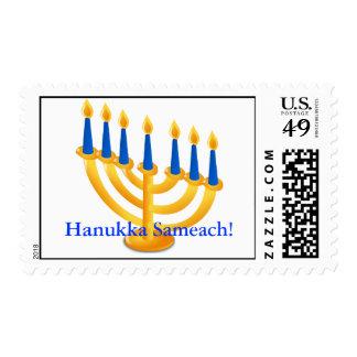 Hanukka Sameach! US Custom Postage