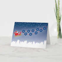 Hanukkah and Christmas Card