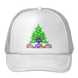Hanukkah and Christmas Hat