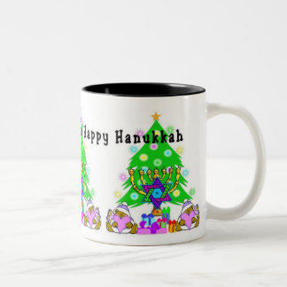 Hanukkah and Christmas Coffee Mugs