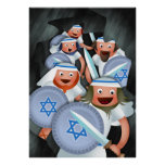 Hanukkah and the Maccabees Poster