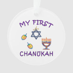 Hanukkah Baby Ornament at Zazzle