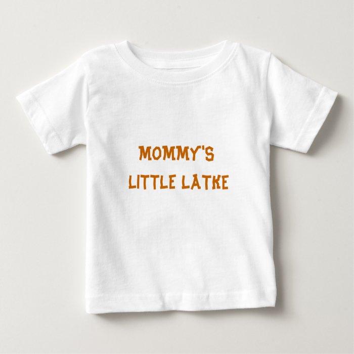 HANUKKAH BABY TODDLER SHIRT MOMMY'S LITTLE LATKE