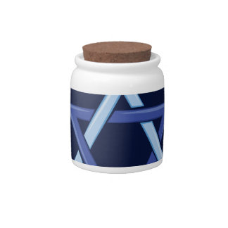 Hanukkah Blessings Candy Jar