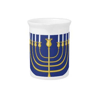 Hanukkah Blessings Drink Pitcher