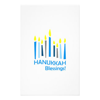 HANUKKAH BLESSINGS STATIONERY DESIGN