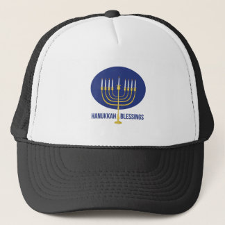 Hanukkah Blessings Trucker Hat