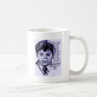 HANUKKAH BOY CLASSIC WHITE COFFEE MUG