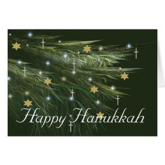 HANUKKAH BUSH CARD