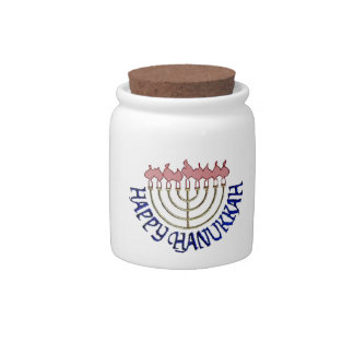 Hanukkah Candy Jar