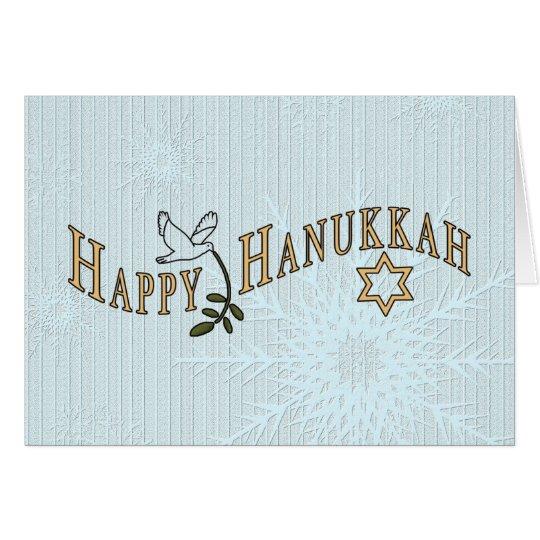 Hanukkah Card-Add own words inside Card