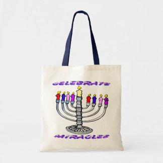 Hanukkah - Celebrate Miracles, Menorah Bag