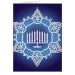 Hanukkah Celebration - Elegant Design Card