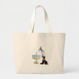 Hanukkah - Chanukah card Canvas Bag