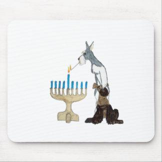 Hanukkah - Chanukah card Mouse Pad