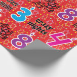 "Hanukkah/Chanukah Wrapping Paper &quot;8 Crazy Nights&quot;<br><div class=""desc"">Hanukkah Gift Wrap &quot;8 Crazy Nights&quot;. Enjoy my newest wrapping paper design. Price varies as you choose between 4 paper types and 5 paper sizes. Thanks for stopping and shopping by. Your business is greatly appreciated. Enjoy!