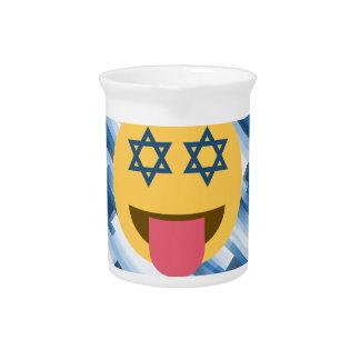 hanukkah chanukkah emoji drink pitchers