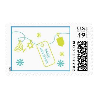 Hanukkah Charm Postage Stamp