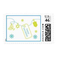 Hanukkah Charm Stamps