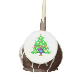 Hanukkah Christmas Interfaith Cake Pops